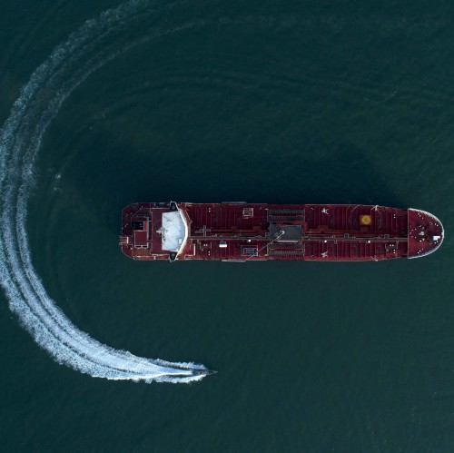 Vessel in the Strait of Hormuz